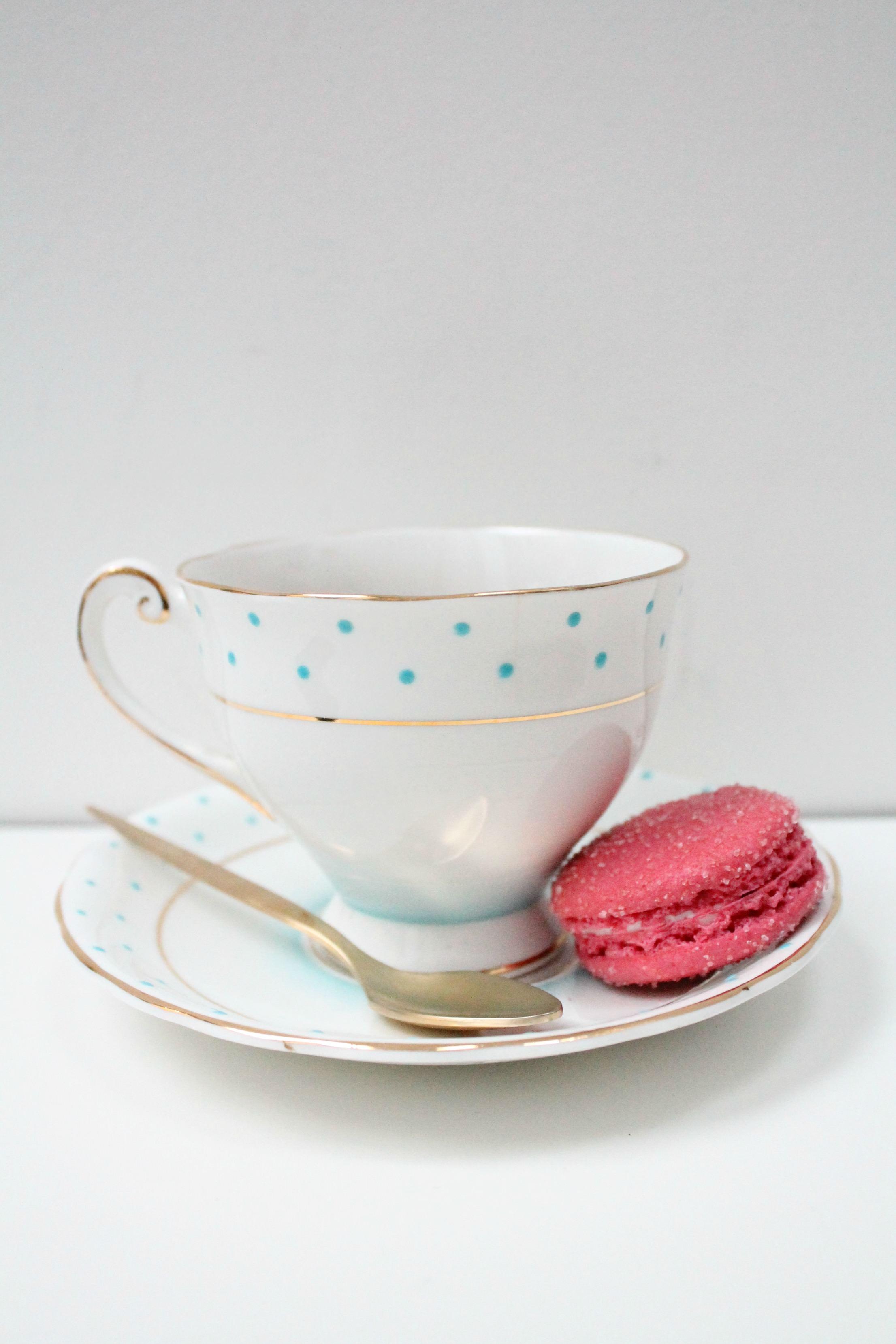 Windsor-fine-bone-china-teacup and Laduree-Little-Big-Bell