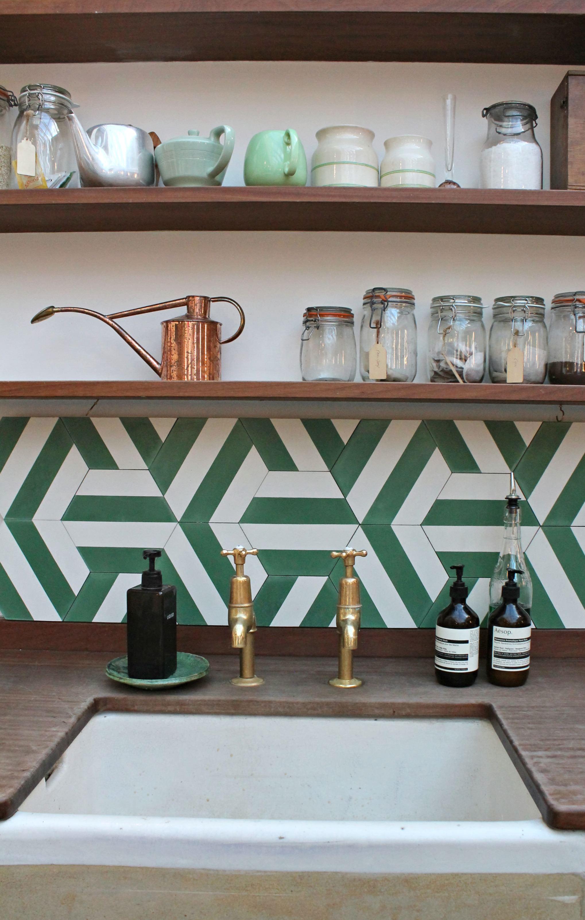 green-and-brass-kitchen-little-big-bell