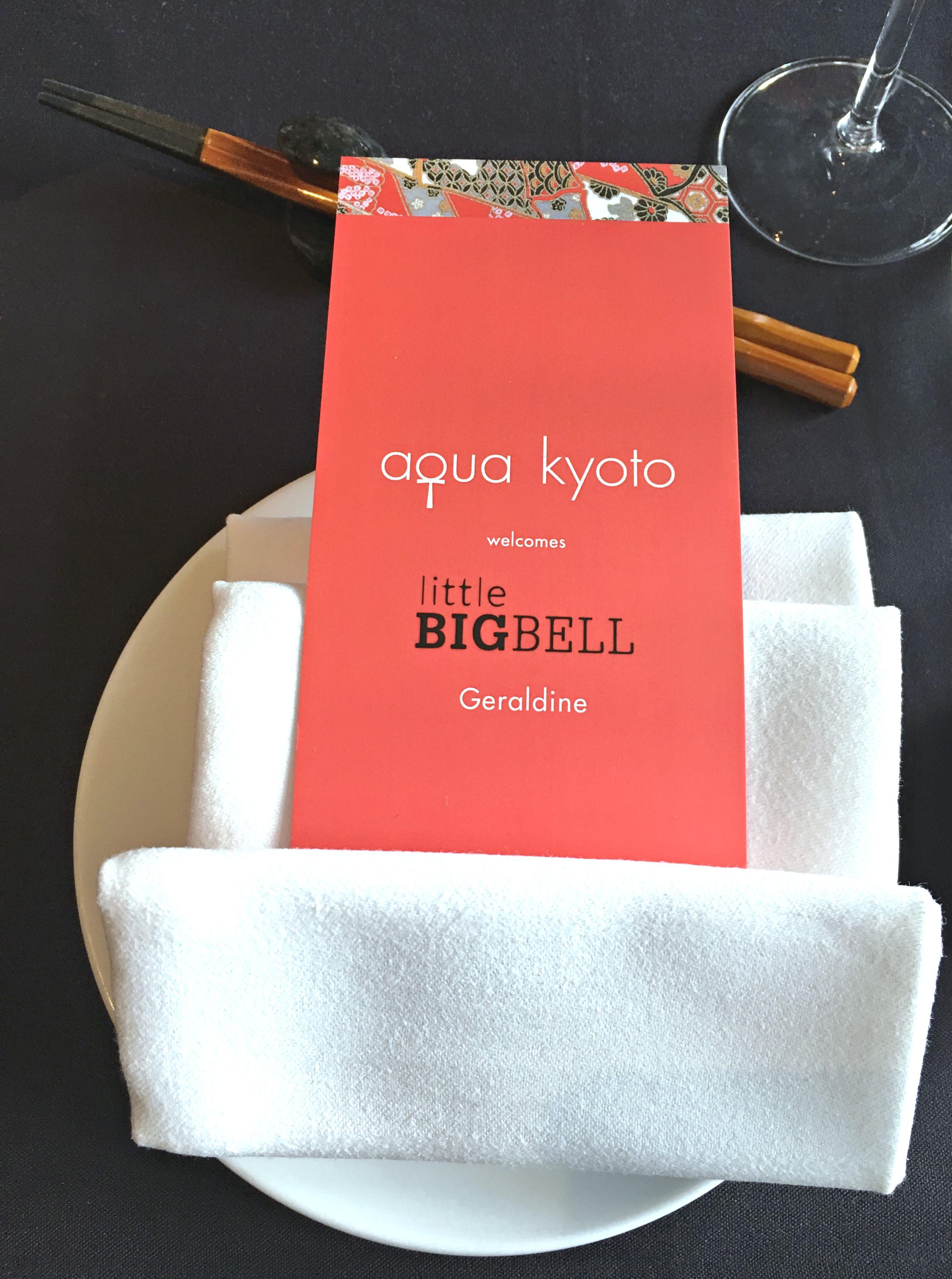 Weekend brunch at Aqua Kyoto restaurant in London