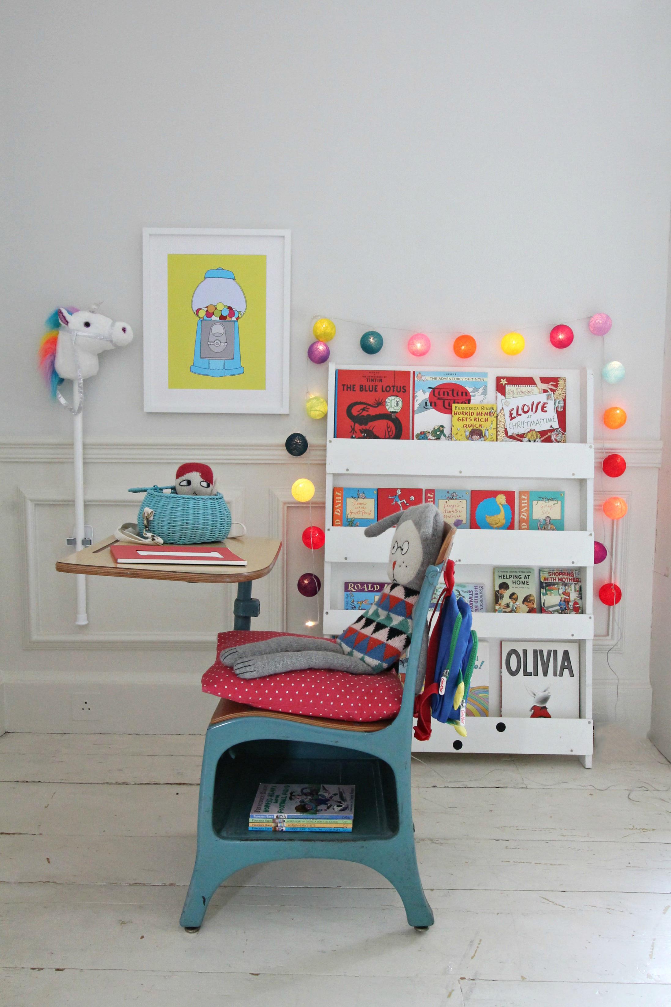 Littlebigbell child 39 s reading corner how to decorate for Kids room doorbell
