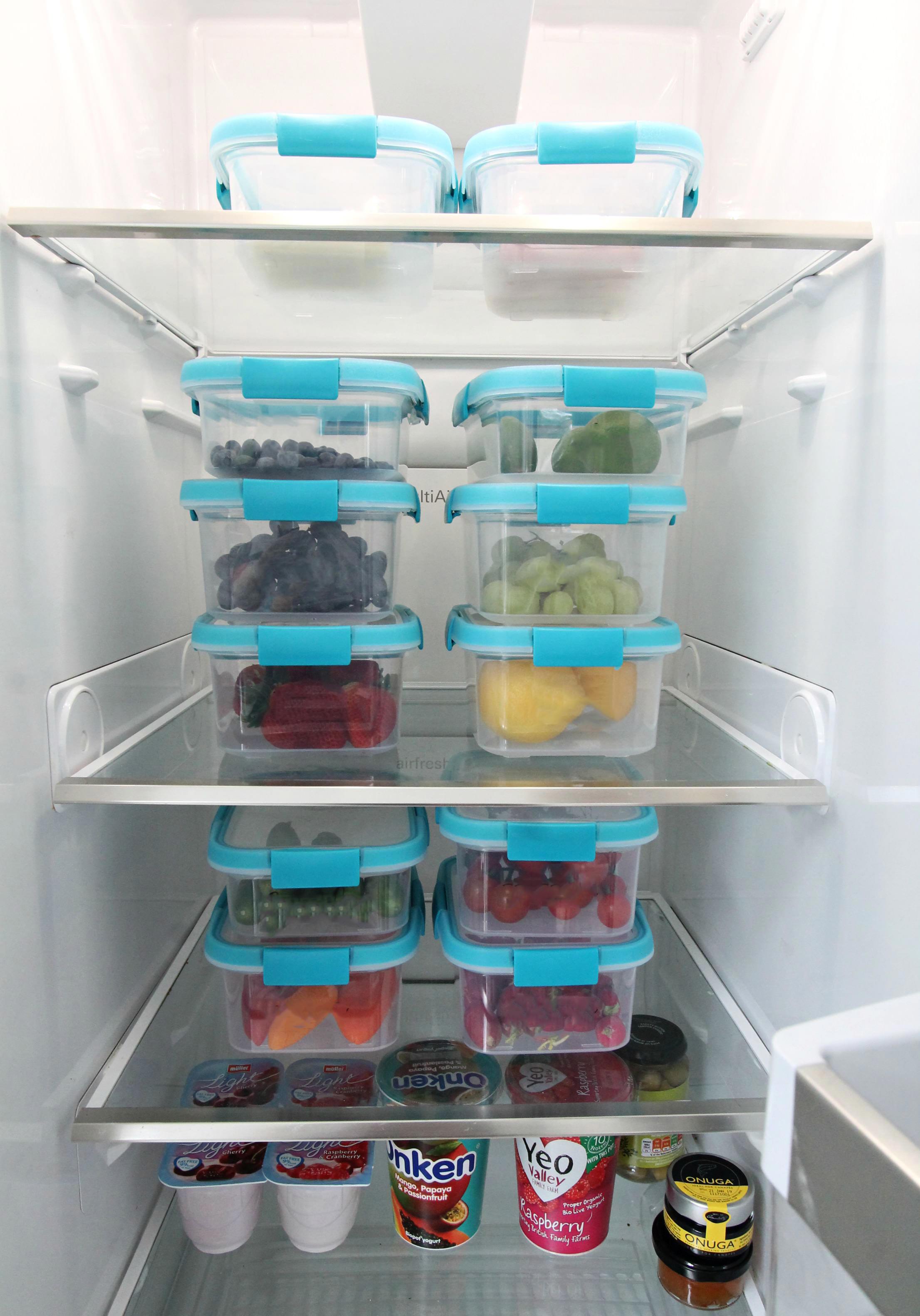 fridge oraganisation
