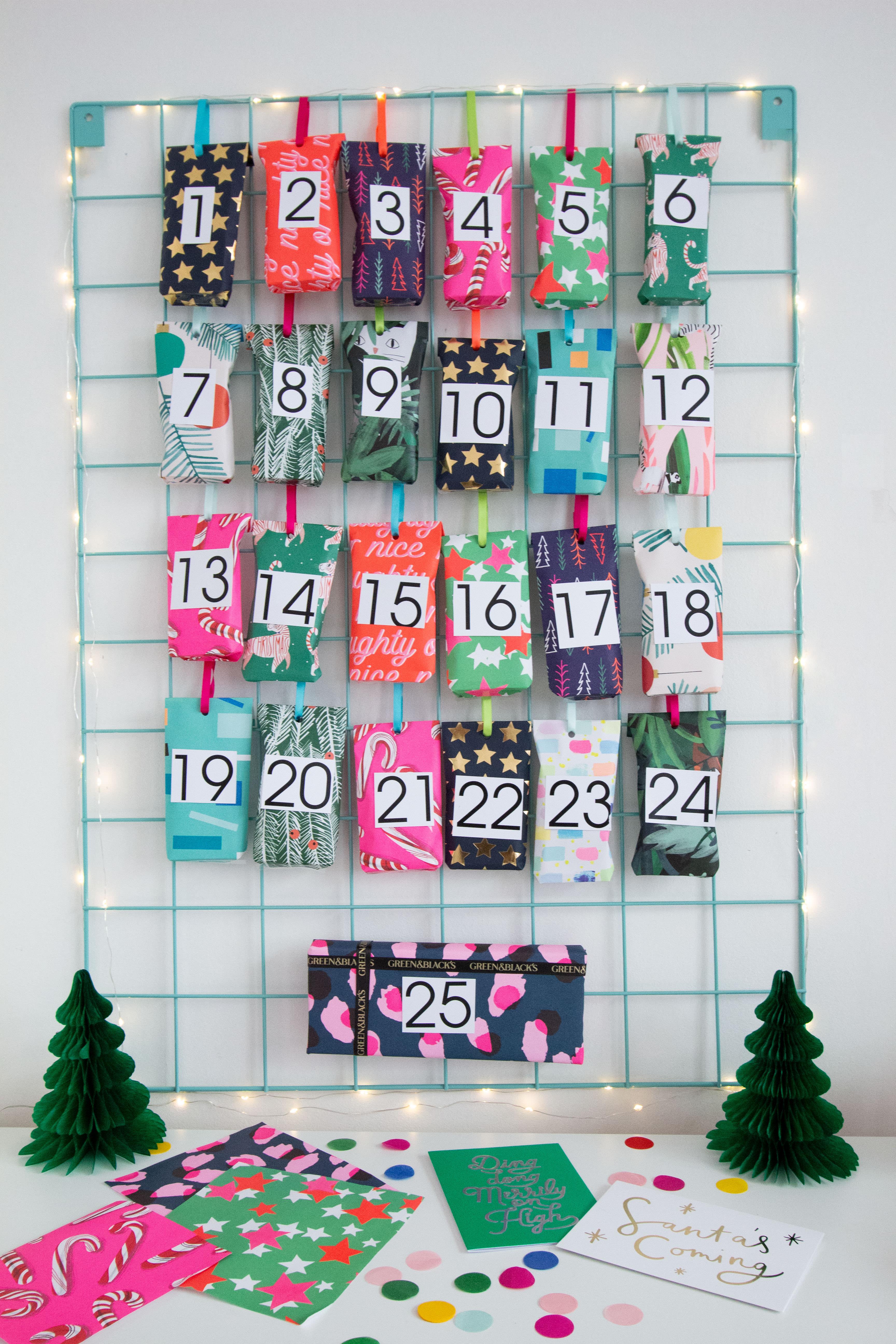 littlebigbell advent calendar diy for a fun and colourful. Black Bedroom Furniture Sets. Home Design Ideas